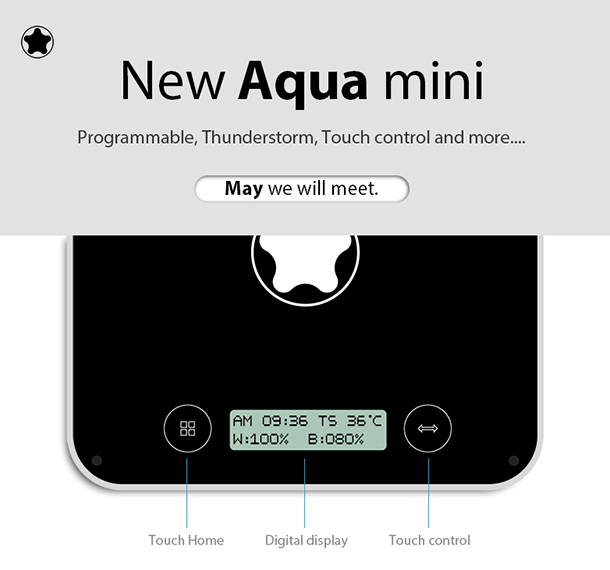 aqua mini - led aquarium light